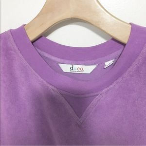 Denim&Co Tops - Used/ terrycloth lavender t shirts